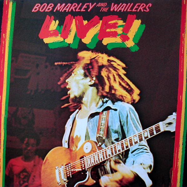 BOB MARLEY - Bob Marley And The Wailers : Live! At The Lyceum cover