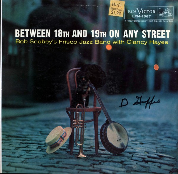 BOB SCOBEY - Between 18th And 19th On Any Street cover