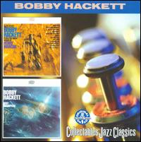 BOBBY HACKETT - Bobby Hackett Plays Henry Mancini / Bobby Hackett Plays Bert Kaempfert cover