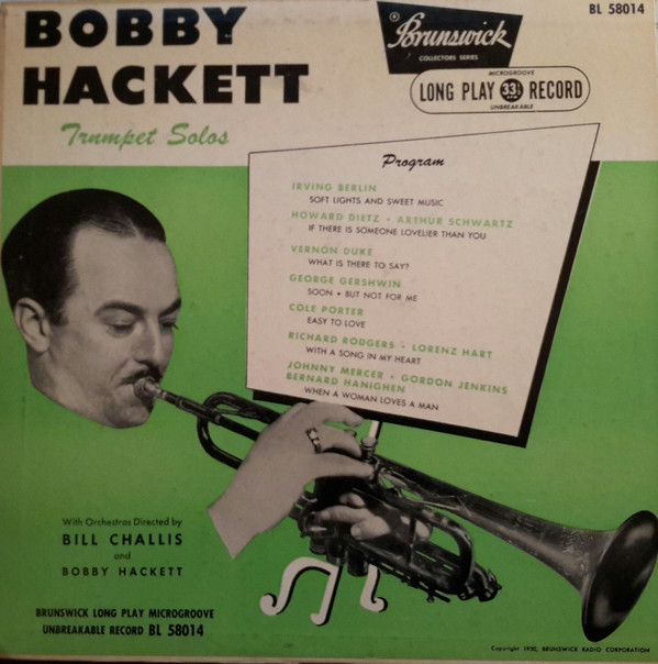 BOBBY HACKETT - Trumpet Solos With Bill Challis cover
