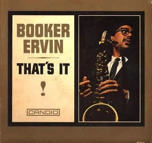 BOOKER ERVIN - That's It! cover
