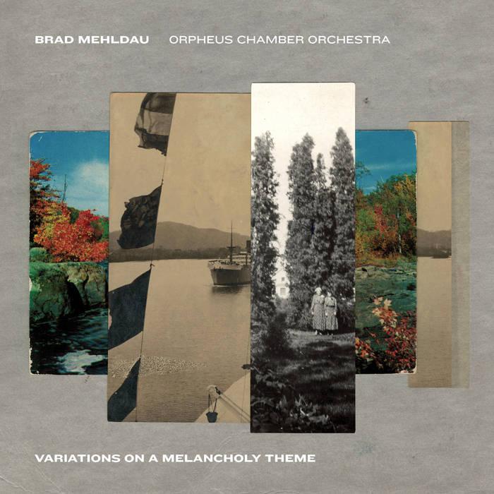 BRAD MEHLDAU - Variations on a Melancholy Thème cover