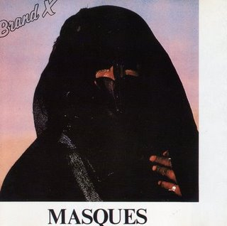 BRAND X - Masques cover