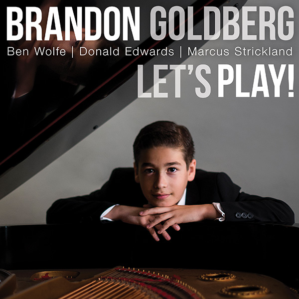 BRANDON GOLDBERG - Let's Play! cover