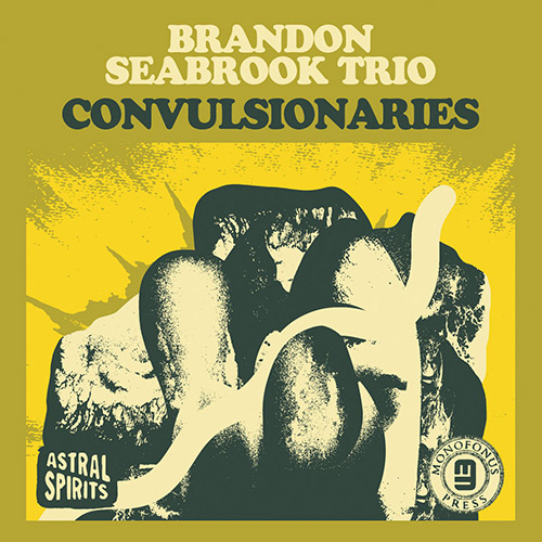BRANDON SEABROOK - Brandon Seabrook Trio : Convulsionaries cover