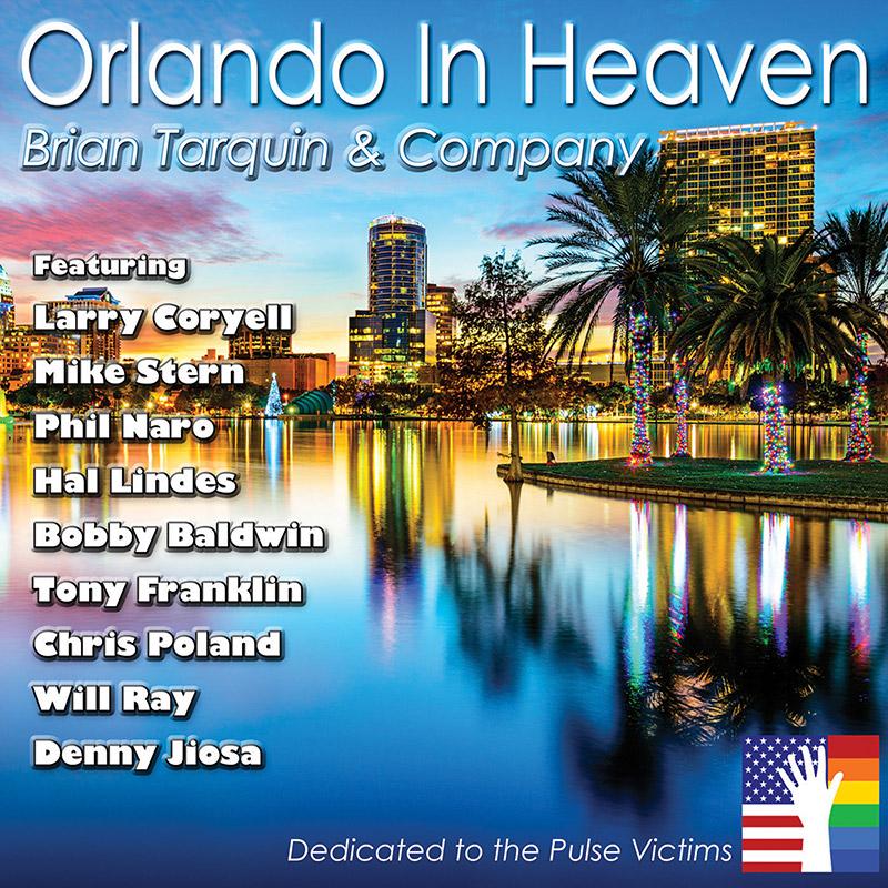 BRIAN TARQUIN - Orlando in Heaven cover