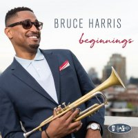 BRUCE HARRIS - Beginnings cover