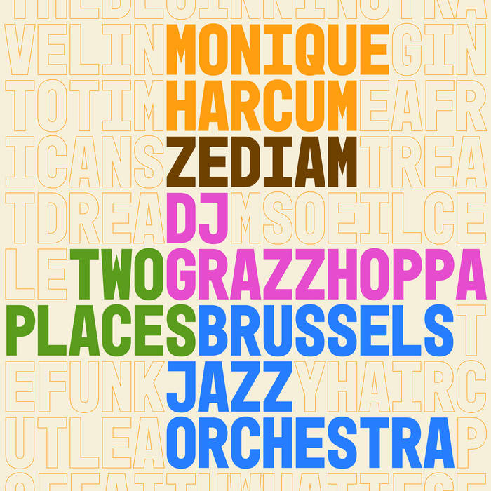 BRUSSELS JAZZ ORCHESTRA - Two Places cover