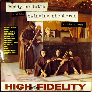 BUDDY COLLETTE - At The Cinema! cover