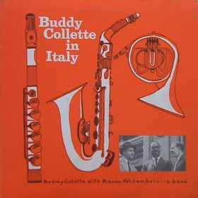 BUDDY COLLETTE - In Italy - with Basso-Valdambrini's band cover