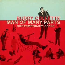 BUDDY COLLETTE - Man of Many Parts cover