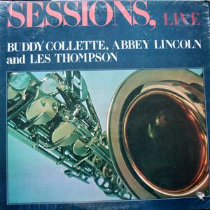 BUDDY COLLETTE - Sessions, Live cover