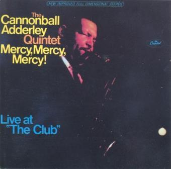 CANNONBALL ADDERLEY - Mercy, Mercy, Mercy! (aka V.I.P.-Jazz 3) cover