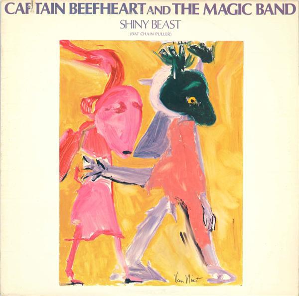 CAPTAIN BEEFHEART - Shiny Beast (Bat Chain Puller) cover