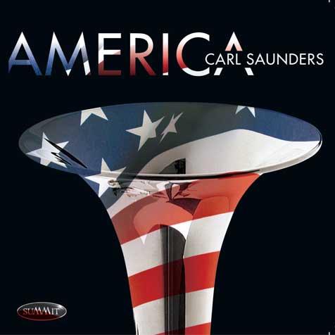 CARL SAUNDERS - America cover