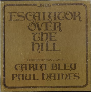 CARLA BLEY - Escalator Over The Hill ( with Paul Haines) cover