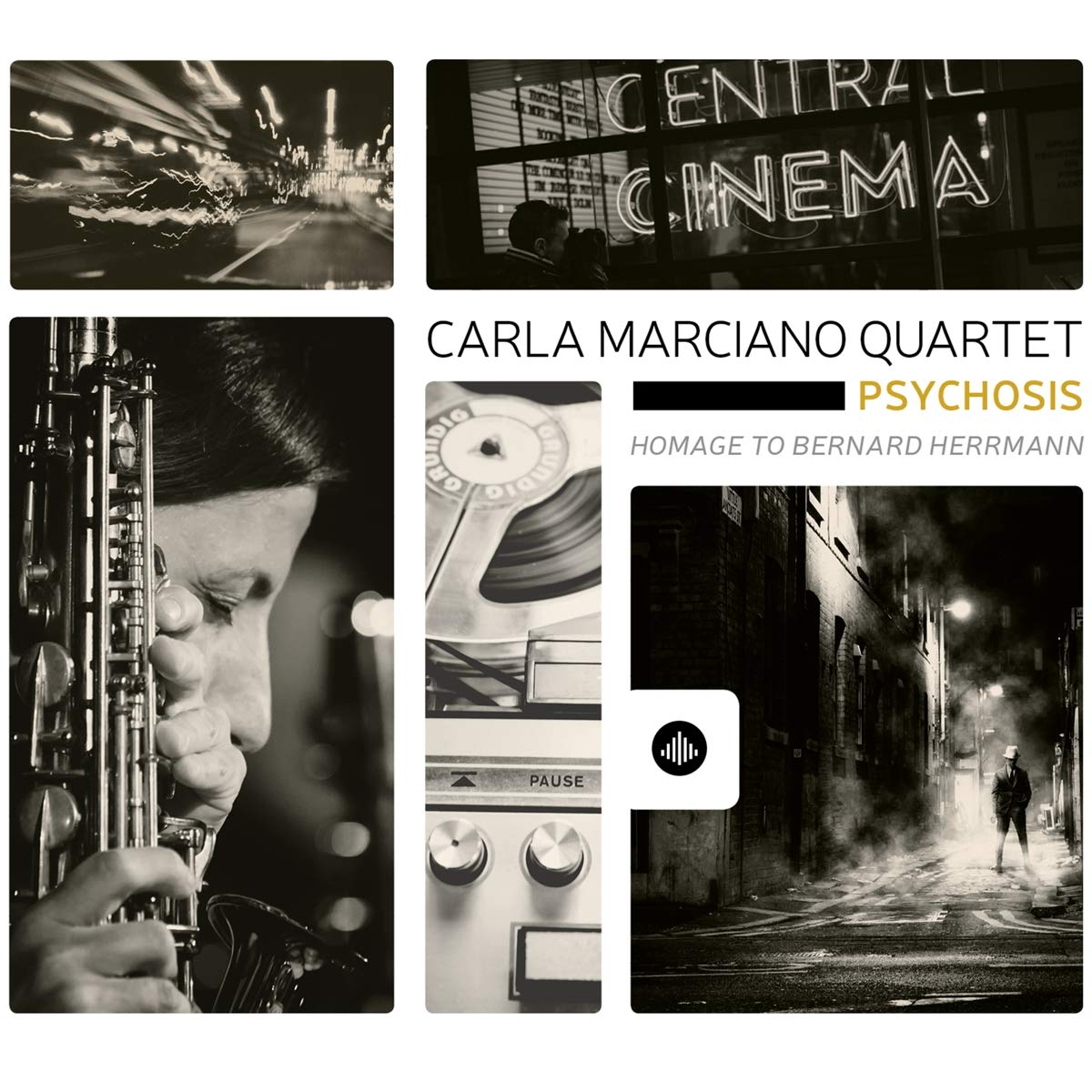 CARLA MARCIANO - Psychosis - Homage to Bernard Herrmann cover