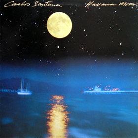 CARLOS SANTANA - Havana Moon cover