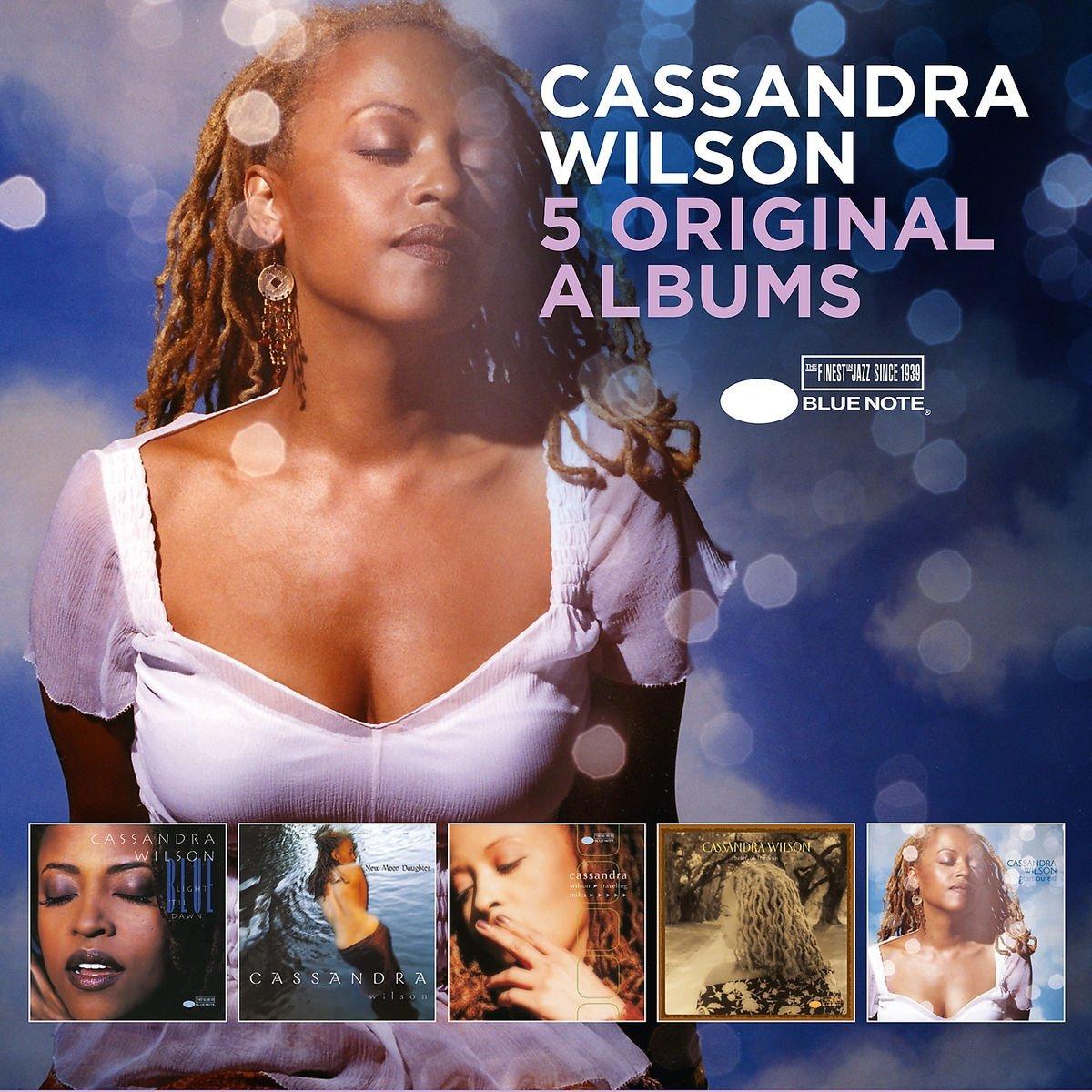 CASSANDRA WILSON - 5 Original Albums cover