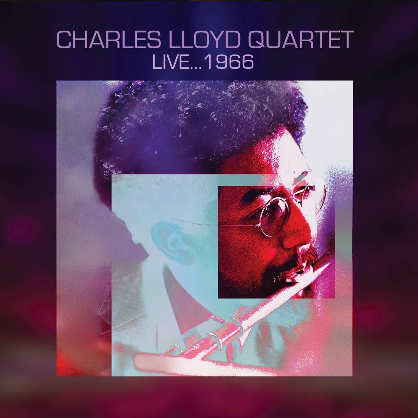 CHARLES LLOYD - Live ... 1966 cover