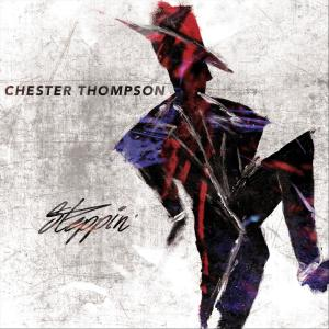 CHESTER THOMPSON (DRUMS) - Steppin cover
