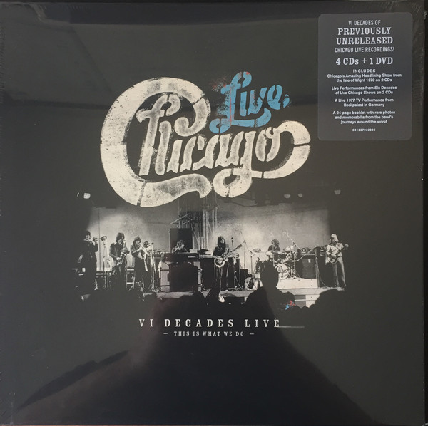 CHICAGO - Live VI Decades Live (This Is What We Do) cover