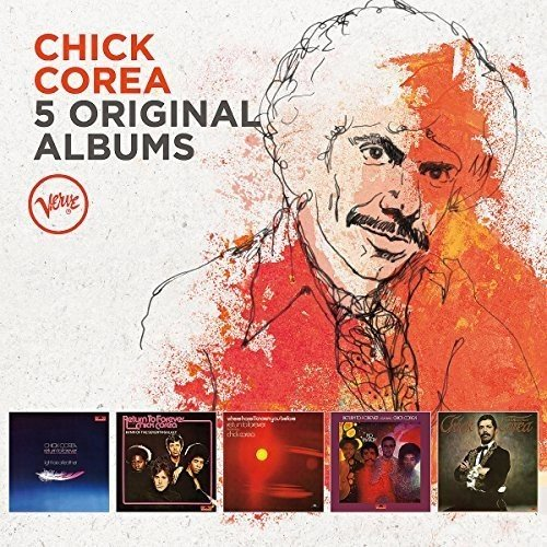 CHICK COREA - Classic Album Selection cover