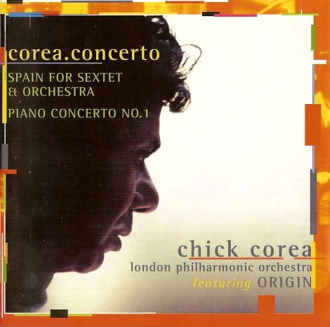 CHICK COREA - Corea.Concerto cover