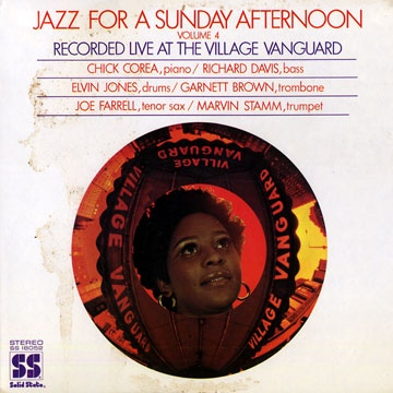 CHICK COREA - Jazz For A Sunday Afternoon Volume 4 (aka Live At The Village Vanguard) cover