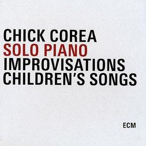 CHICK COREA - Solo Piano (Improvisations / Children's Songs) cover