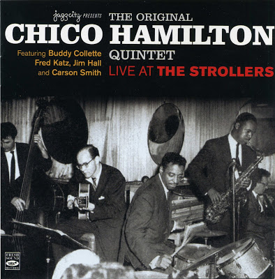 CHICO HAMILTON - Live at the Strollers cover