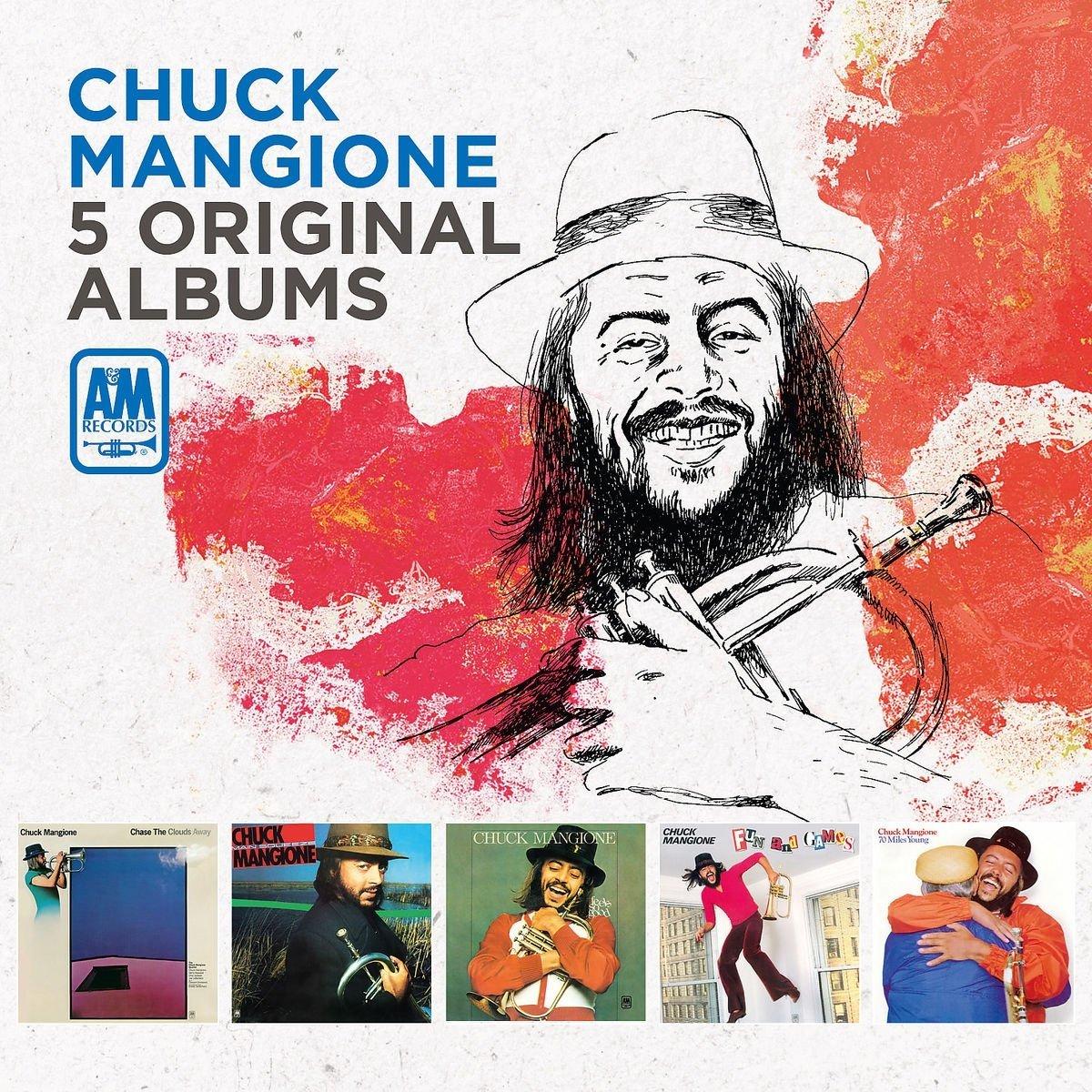 CHUCK MANGIONE - 5 Original Albums cover