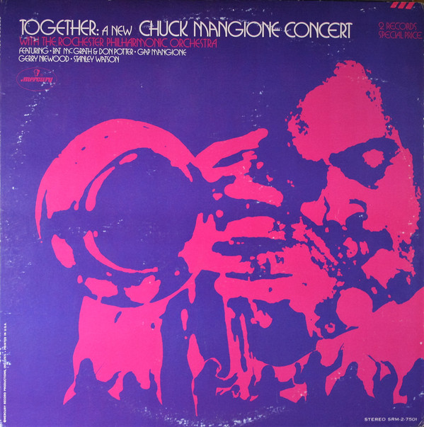 CHUCK MANGIONE - Together: A New Chuck Mangione Concert cover