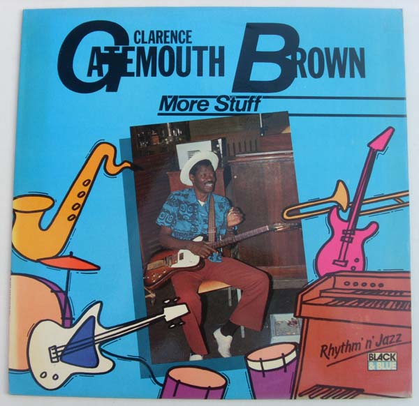 CLARENCE 'GATEMOUTH' BROWN - More Stuff cover