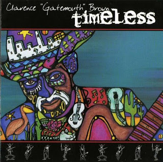 CLARENCE 'GATEMOUTH' BROWN - Timeless cover