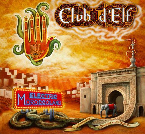 CLUB D'ELF - Electric Moroccoland / So Below cover