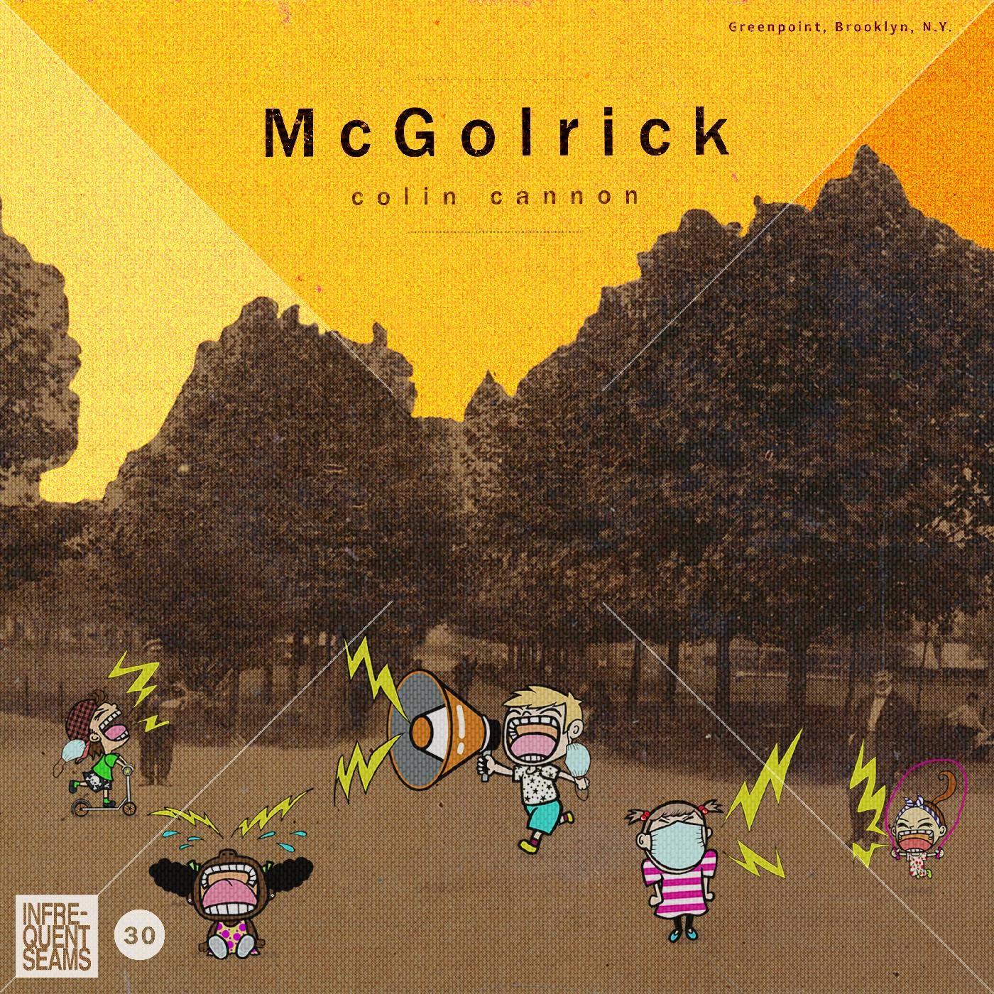 COLIN CANNON - McGolrick cover