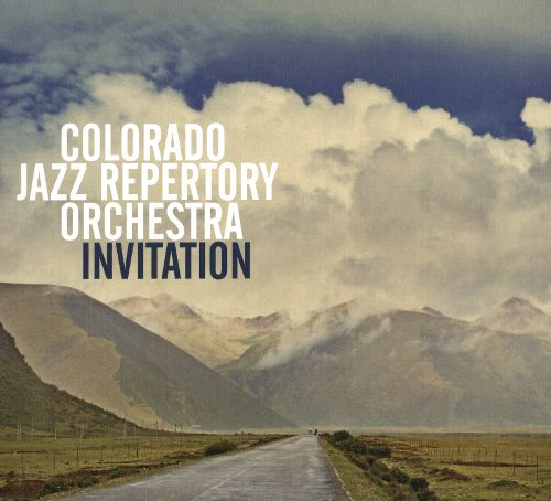 COLORADO JAZZ REPERTORY ORCHESTRA - Invitation cover