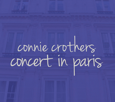 CONNIE CROTHERS - Concert In Paris cover