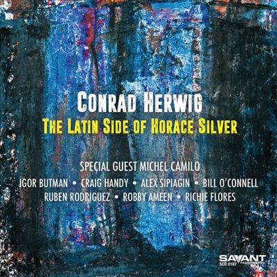 CONRAD HERWIG - The Latin Side of Horace Silver cover