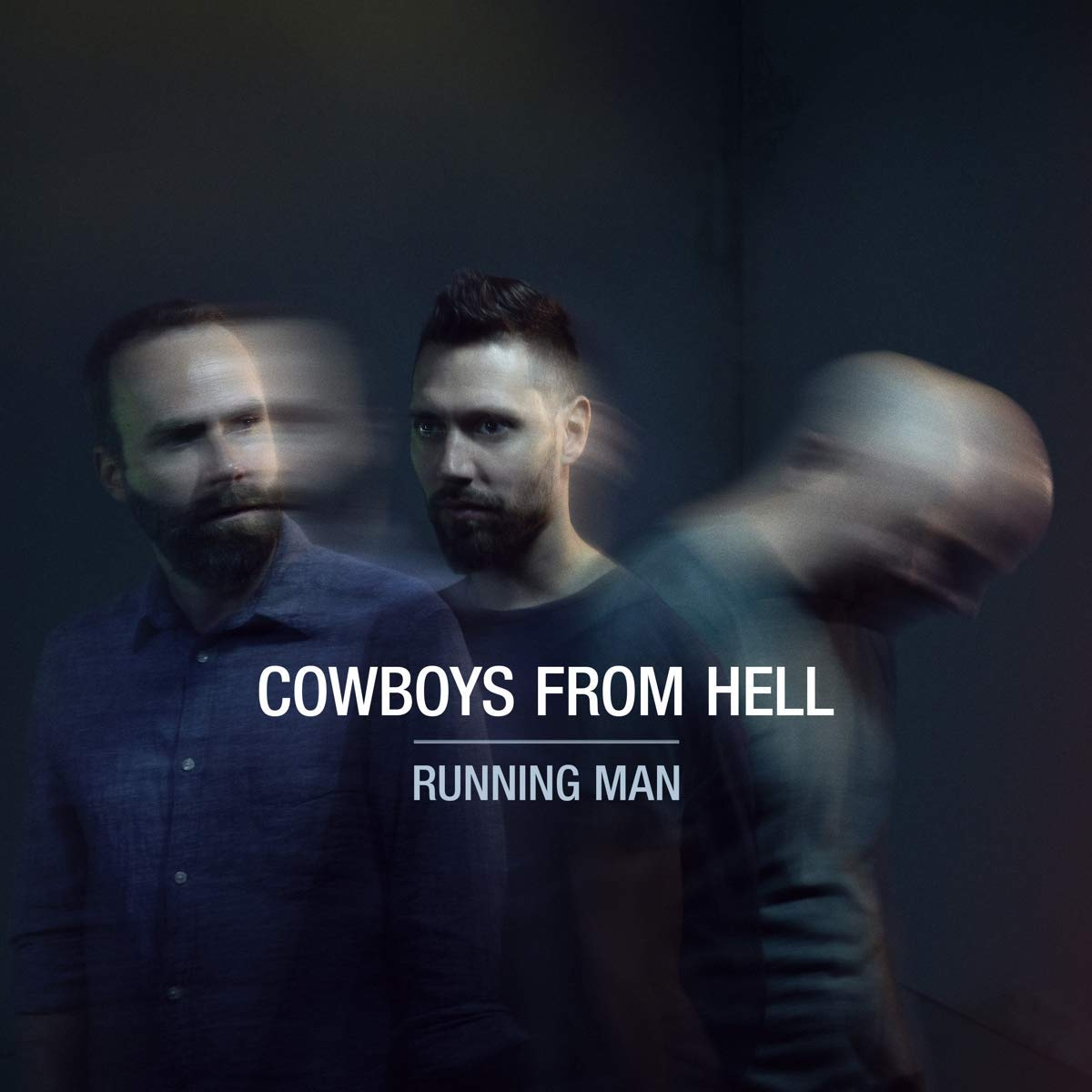 COWBOYS FROM HELL - Running Man cover