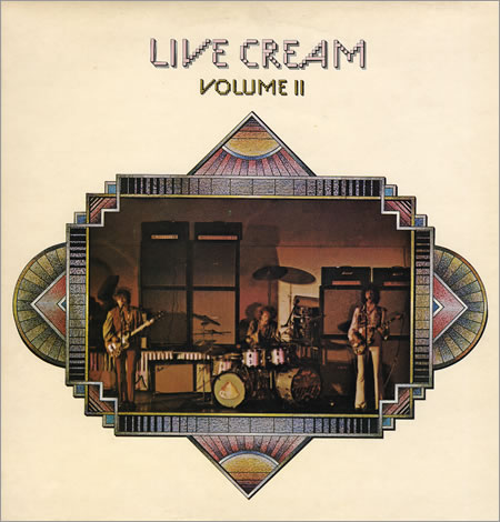 CREAM - Live Cream, Volume 2 cover