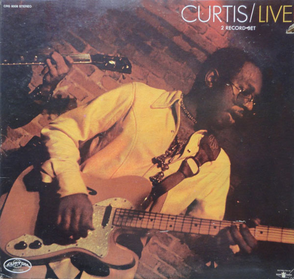 CURTIS MAYFIELD - Curtis/Live! cover