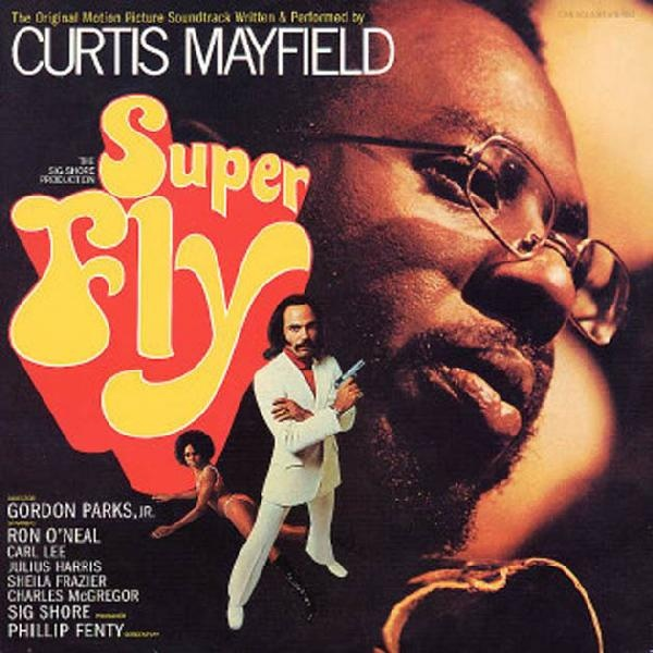 CURTIS MAYFIELD - Superfly cover