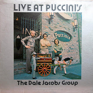 DALE JACOBS - Live At Puccini's cover