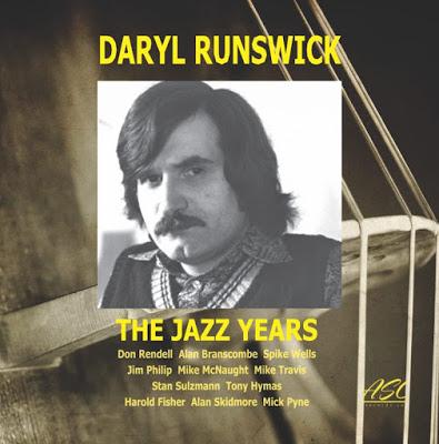 DARYL RUNSWICK - The Jazz Years cover