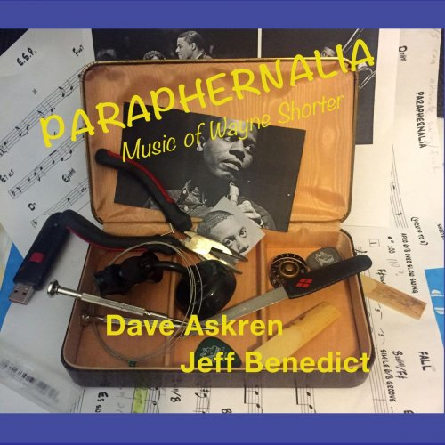DAVE ASKREN - Paraphernalia - Music of Wayne Shorter cover