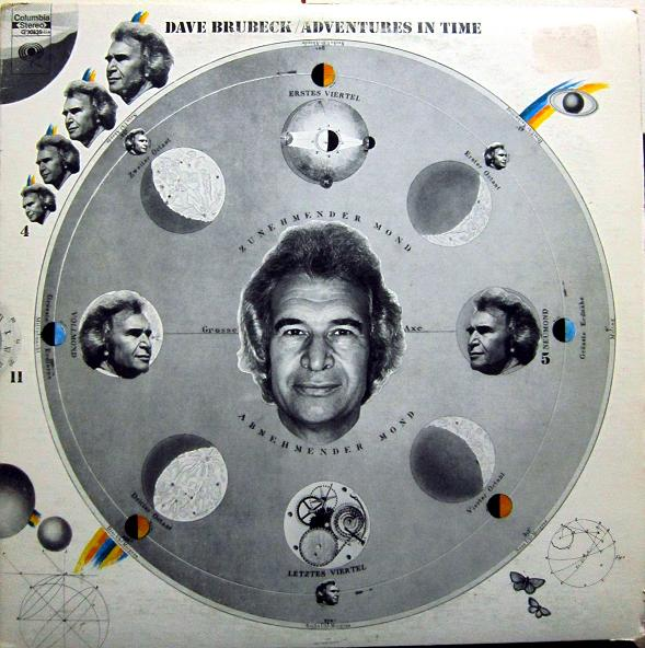 DAVE BRUBECK - Adventures In Time cover