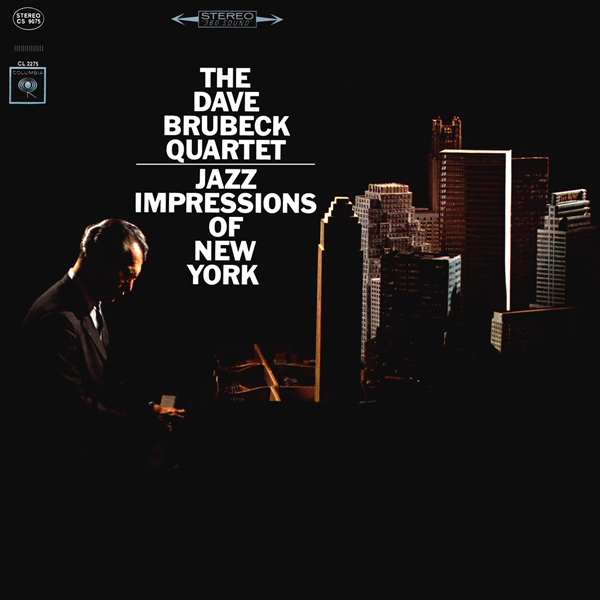 DAVE BRUBECK - Jazz Impressions of New York cover