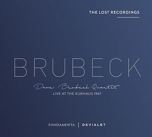 DAVE BRUBECK - Live At The Kurhaus 1967 cover